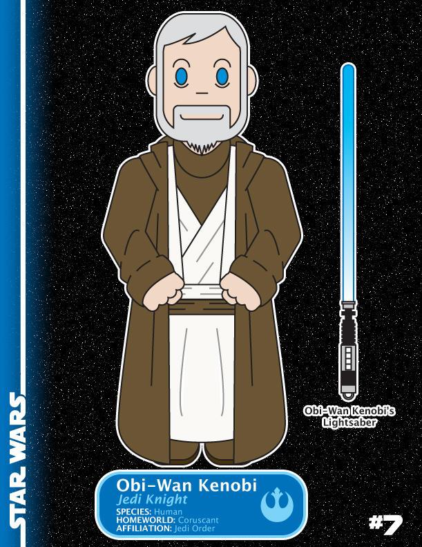 7 - Obi-Wan Kenobi - Jedi by shane613