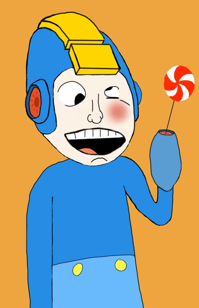 Mega Man Fan 'Art' by MelolzuGaming
