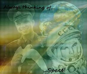 Juri Gagarin blend 1 by CountChopin