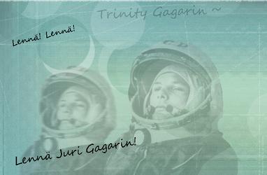 Juri Gagarin blend 2 by CountChopin