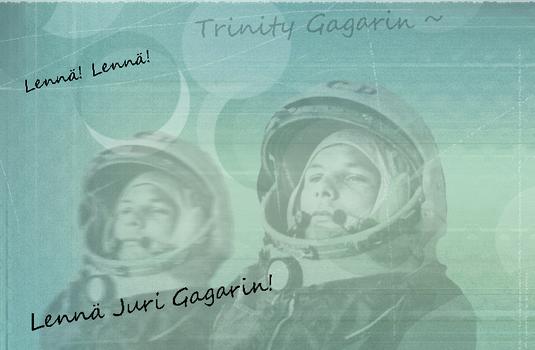Juri Gagarin blend 2