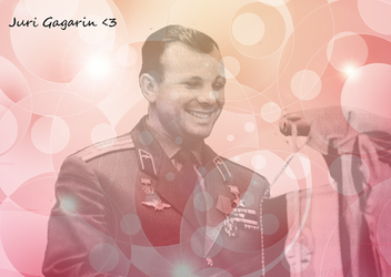 Juri Gagarin blend 3 by CountChopin