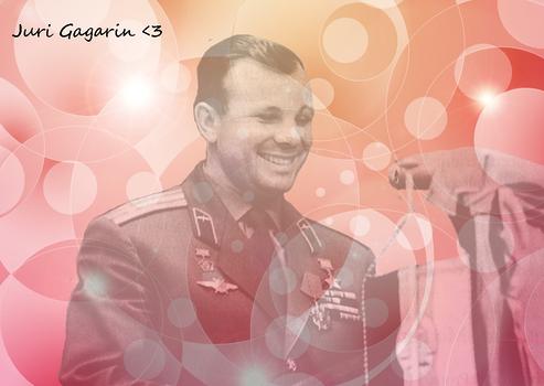 Juri Gagarin blend 3