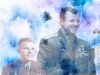 Juri Gagarin blend 5 by CountChopin