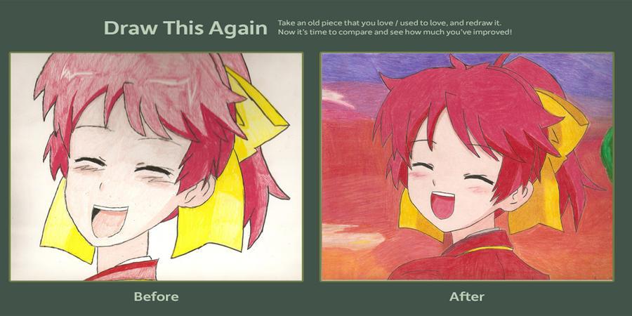 Minami Shimada Draw this Again by pl3th0ra