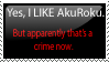 Anti-Anti-AkuRoku Stamp by xStarxWolfx