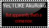 Anti-Anti-AkuRoku Stamp by xStarxWolfx
