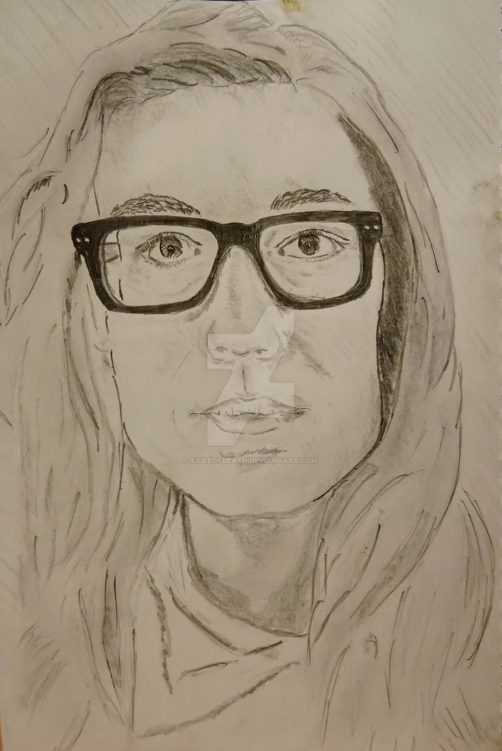 Self Portrait 1 by ExileOfDeath