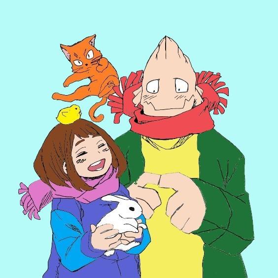Ochako Uraraka And Koji Koda By Randomguy525 On Deviantart