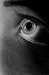 Eye Study (Photo Realism Attempt) by RickerIV