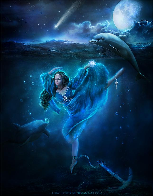Ocean Soul by ChristabelleLAmort
