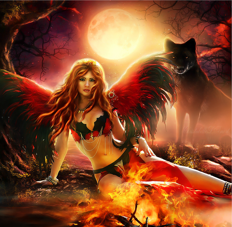 Wild Heart by ChristabelleLAmort