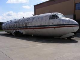 Destroyed Plane by Forgotten-Munkey