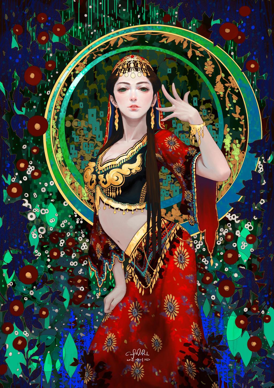 Xinjiang Dancer by casimir0304