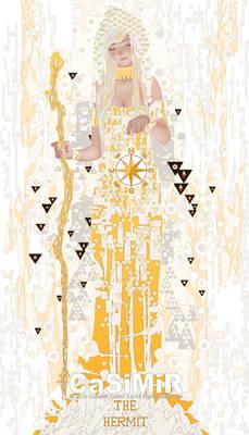 09-Tarot-Hermit