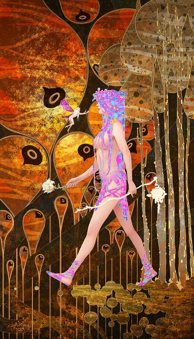 Tarot-0 The Fool by casimir0304
