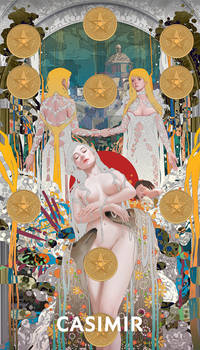 CASIMIR ART Minor Arcana / TEN of PENTACLES