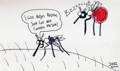 Mosquitos rojos
