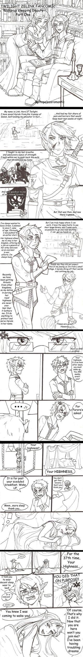 TP Wake up Sleeping Zelda: Part 1 by hopelessromantic721