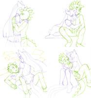 Spilight Doodle dumps by hopelessromantic721