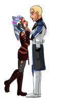 Rex and Ahsoka