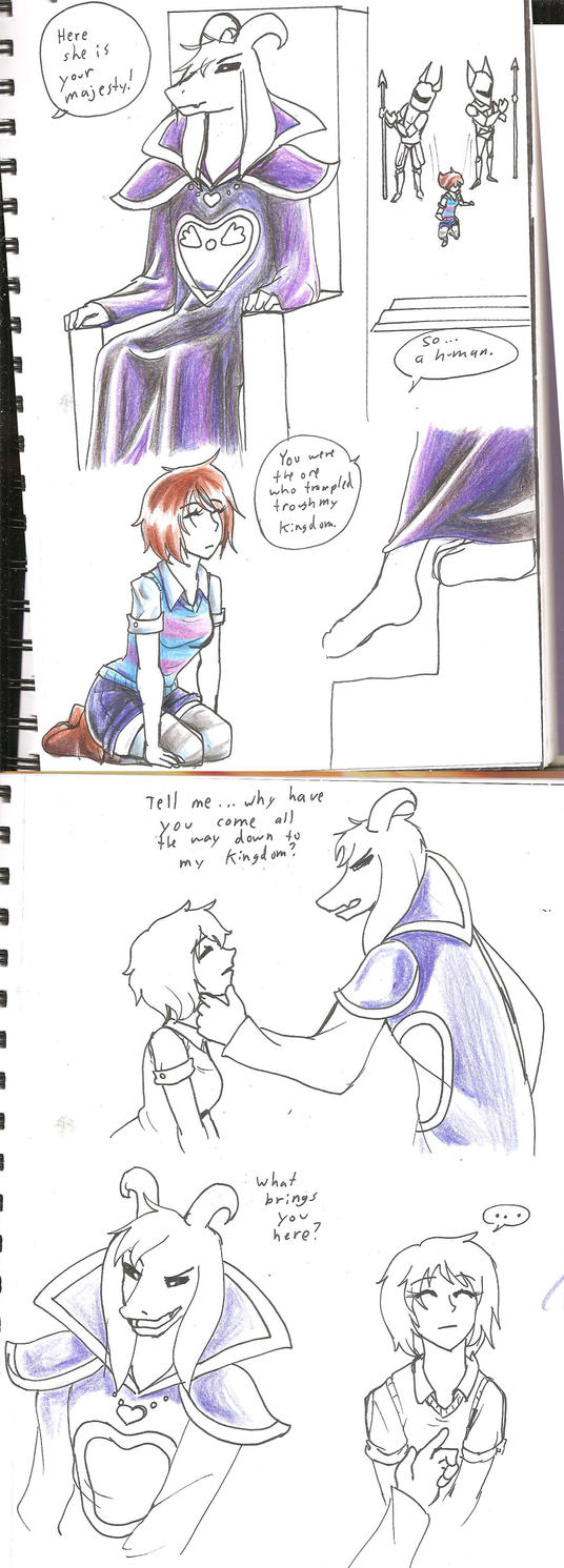 UT: COMIC WIP WHAT SHOULD COME NEXT? by hopelessromantic721