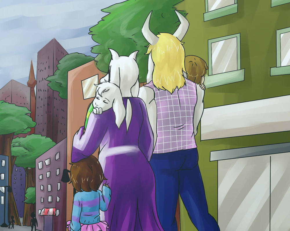 UT: Cloudy Day Out by hopelessromantic721