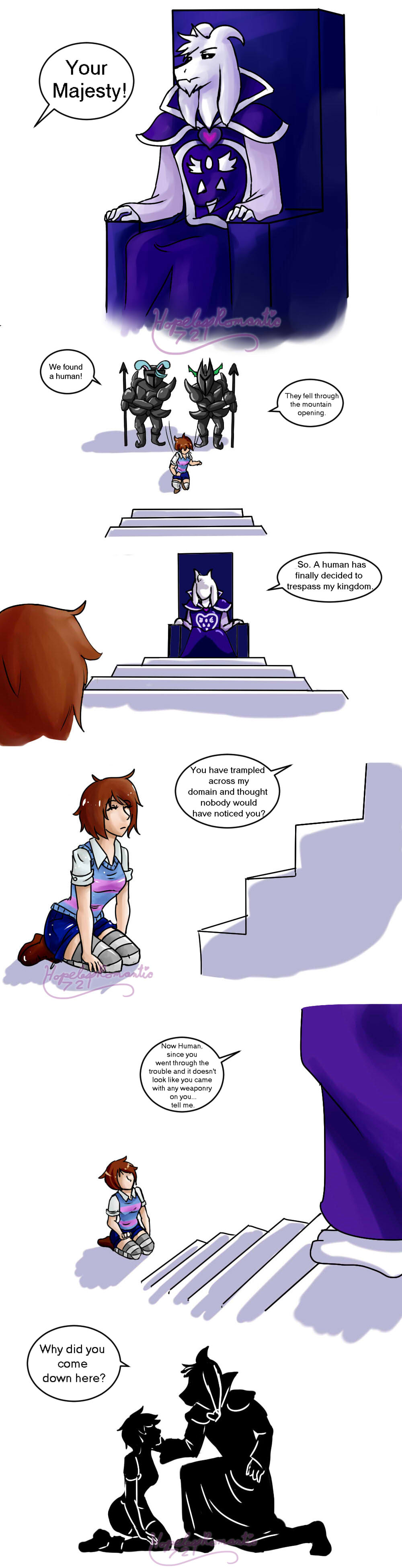 hopelessromantic721 ut losttale what brings you here pt1 by hopelessromantic721 - Why Are You Here What Brings You Here