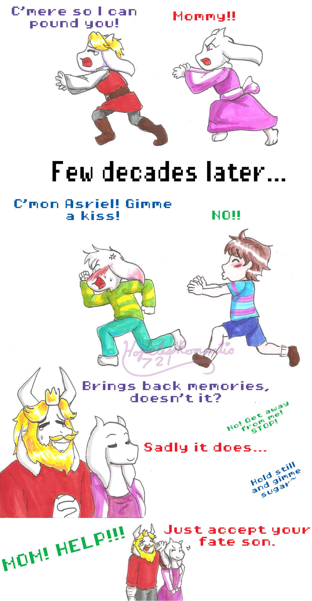 UT: Some Things Never Change by hopelessromantic721