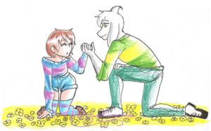 UT: Helping Hand by hopelessromantic721