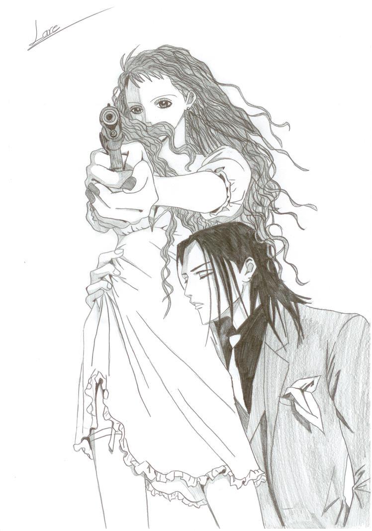 Reira and Takumi by LaraMitan ...