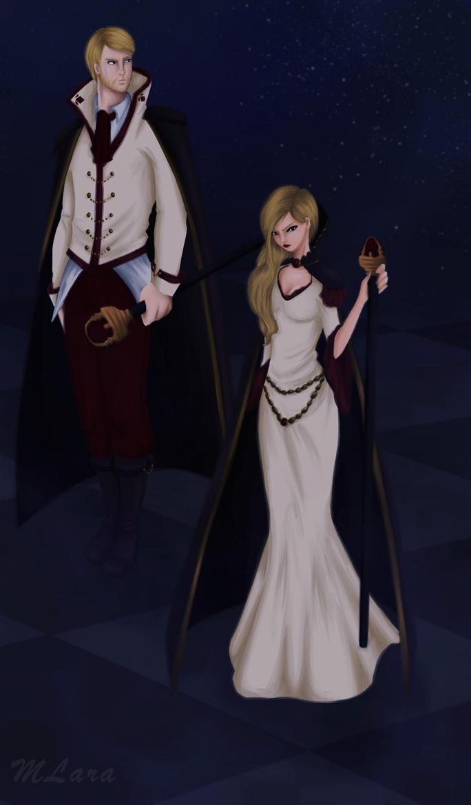 Chess Royal Couple by TaraLumina