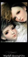 Face-up:Migidoll Ryeong + Cho by tr3is
