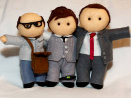 White Collar Plushies