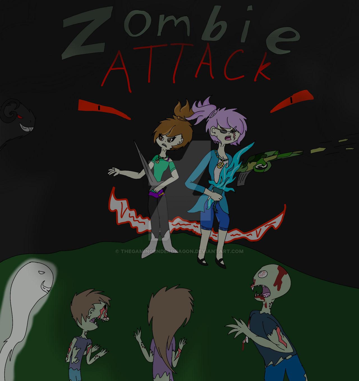 Roblox Zombie Attack Fan Art By Thegamingenderdragon On Deviantart