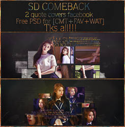 [SD comeback] 2PSDs for you. by SeroDuong