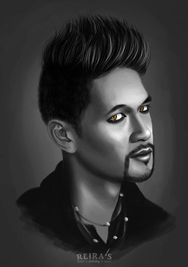 Harry Shum Jr. - Magnus Bane from Shadowhunters by ReirasArtistry