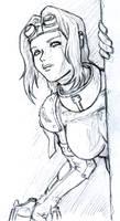 Sketch: Adeptus Arbites