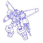 Sketch: transforming mecha