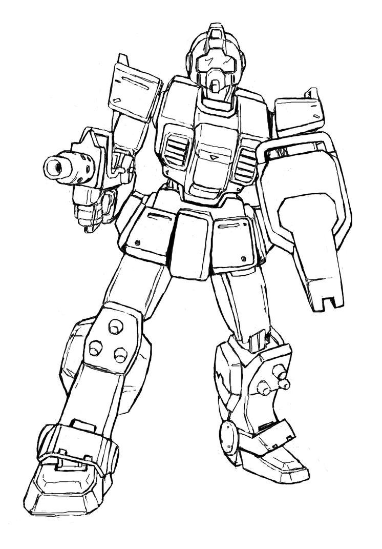RGM-79 GM by Darcad on DeviantArt