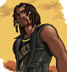 Ulysses from Fallout New Vegas Lonesome Road