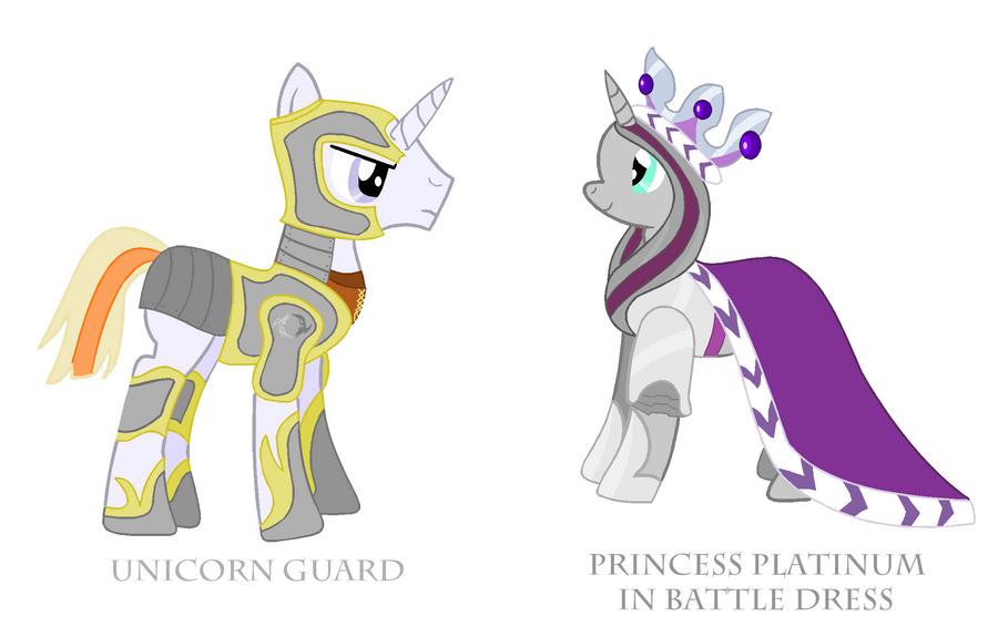 Unicorn Guard by Vector-Brony
