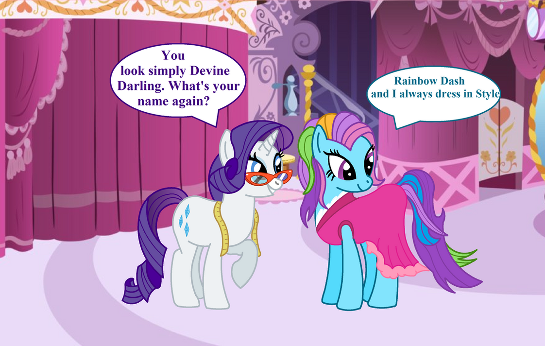rarity_meets_g3_rainbow_dash_by_hampshir