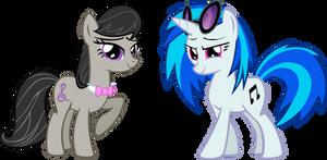 Octavia and Vinly Scratch