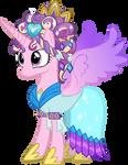 Princess Cadence with Ceremonial Headdress