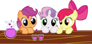 Cutie Mark Crusaders and love Poison