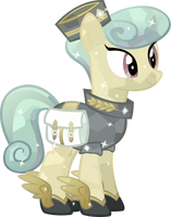 Crystal Messenger pony Mercury by Vector-Brony