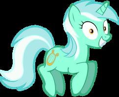 Happy Lyra by Vector-Brony