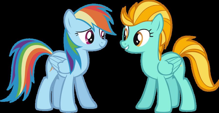 rainbow dash vs lighting - photo #37