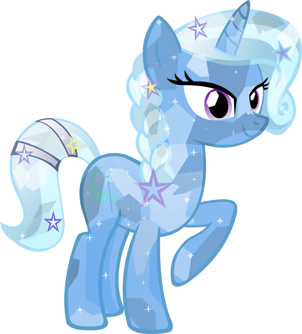 Crystal Trixie by Vector-Brony